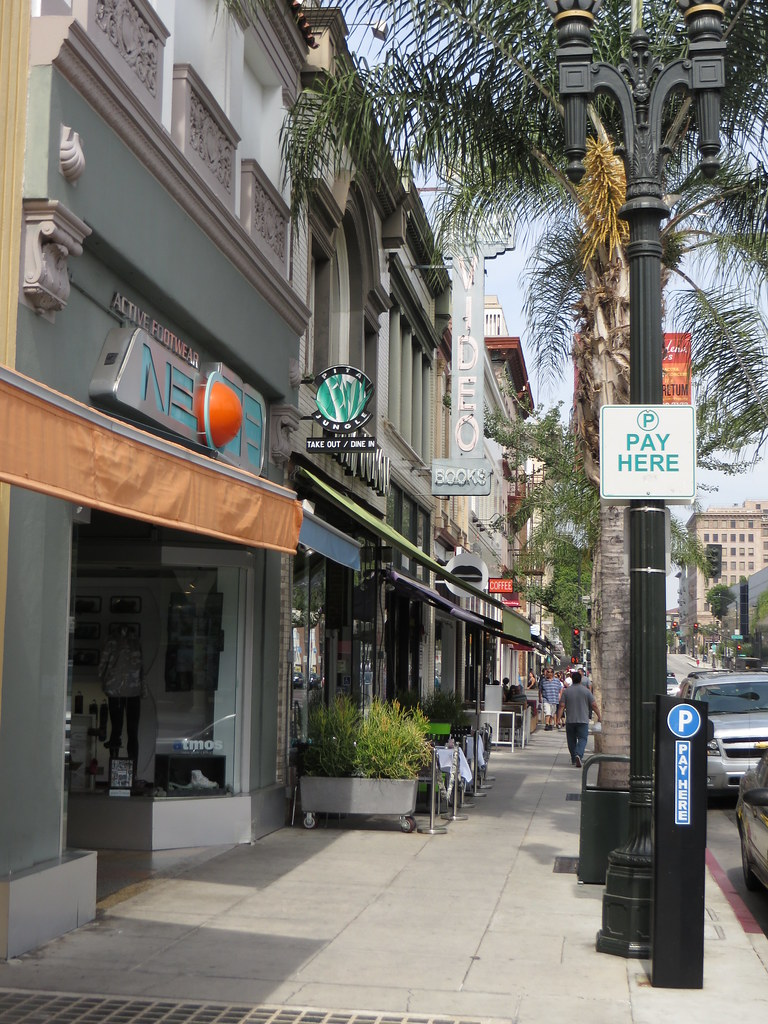 Colorado Boulevard, Old Pasadena, Pasadena, California ...