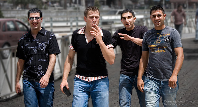 Four Dudes of Hatay, Turkey