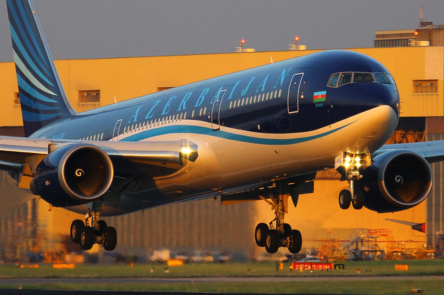 4K-AZ81, Heathrow, June 12th 2014