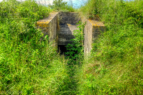 Atlantic Wall bunker - Schiermonnikoog island, the Netherlands
