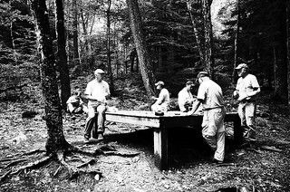 Lunch at Race Brook campground | by Richard-