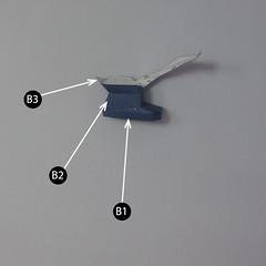 วิธีทำของเล่นโมเดลกระดาษกับตันอเมริกา (Chibi Captain America Papercraft Model) 009