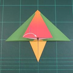 วิธีพับกระดาษเป็นรูปนกแก้ว (Origami Parrot) 019