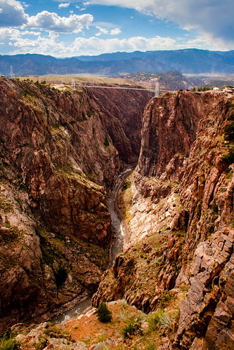travel summer sun 20d beautiful canon river landscape colorado canyon wanderlust explore gorge suspensionbridge whitewaterrafting royalgorge