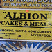 Albion Cakes & Meats Sign € 350