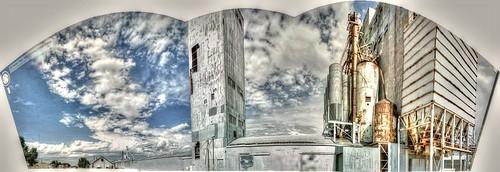 panorama colorado pano elevator grain co agriculture hdr grainelevator panamerican ault photomatix gsv googlestreetview panamericantrek