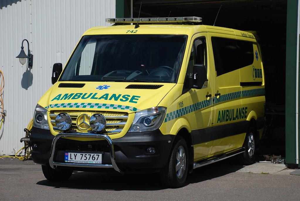 MB Sprinter 2014 Norwegian Ambulance | MB Sprinter 2014 Ambu