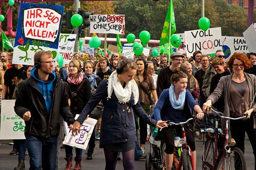 #SilentClimateParade / #PeopleClimateMarch 2014 in Berlin | by mw238