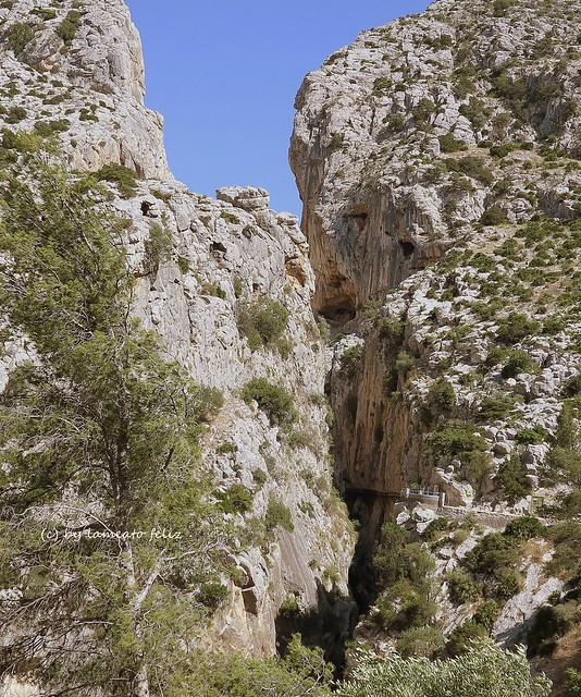 Explore 78-17 de Junio 2015 #453-Entrando en el desfiladero-Caminito del Rey.El Chorro- Álora-(Málaga)