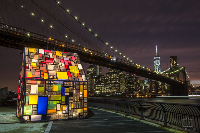 Brooklyn Bridge Stained-Glass House
