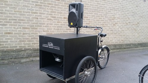 Soundsystem Cargo bike for Hire | by LDN Green Cycles