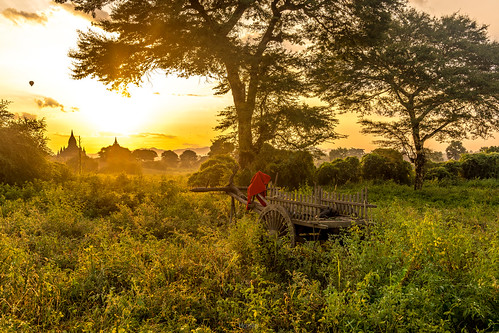 Sunrise in Bagan | by tehhanlin