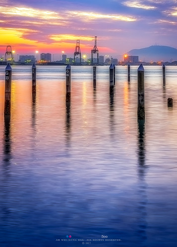 penang penangisland georgetown pulaupinang malaysia georgetownpenang my sunrises sunrise sunset sunsets landscape shore clouds seashore seascape nikon50mmf18g 50mmf18g nikond750 nikon ahweilungwei penangferry magichour