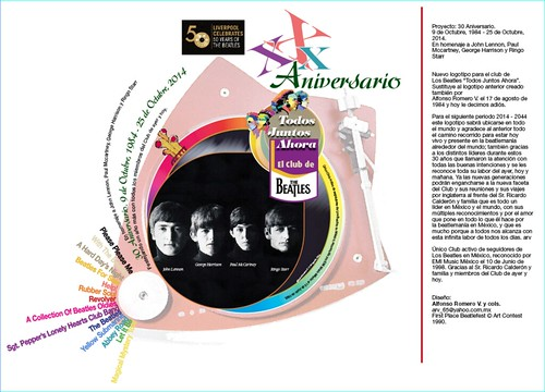 30 Aniversario. 9 de Octubre, 1984 - 25 de Octubre, 2014. En homenaje a John Lennon, Paul Mccartney, George Harrison y Ringo Starr_463