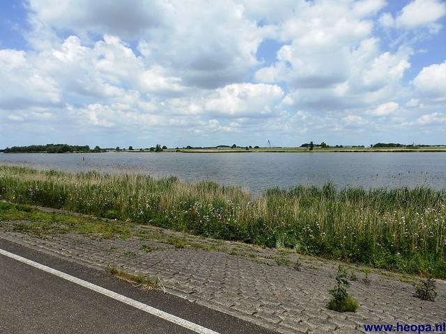 12-06-2014 Dronten Roggebotzand  20 Km (41)