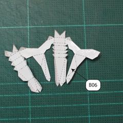 วิธีทำโมเดลกระดาษของเล่นคุกกี้รัน คุกกี้รสพ่อมด (Cookie Run Wizard Cookie Papercraft Model) 025