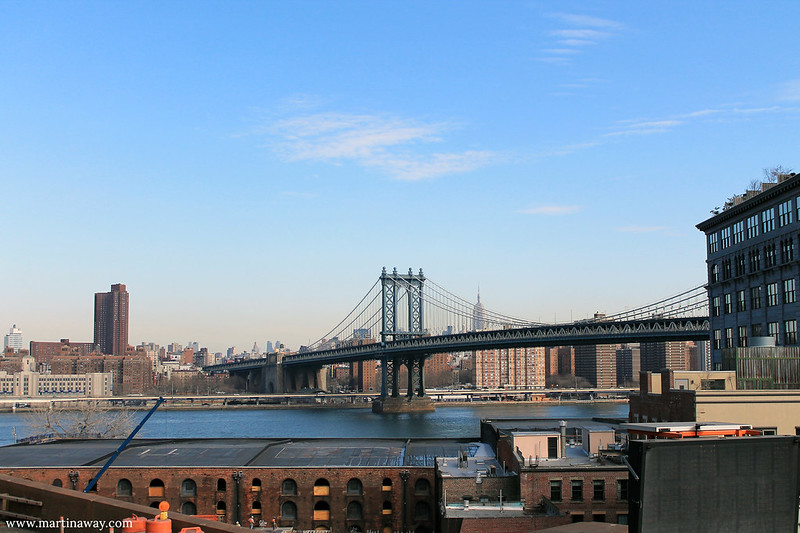 View from the Brooklyn Bridge.
