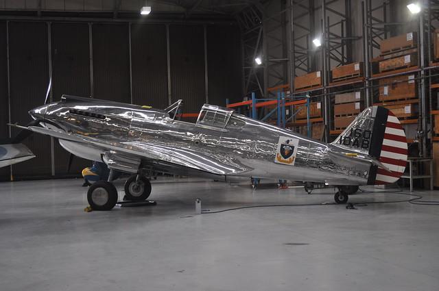 P-40C Warhawk 41-13357 N80FR TFC