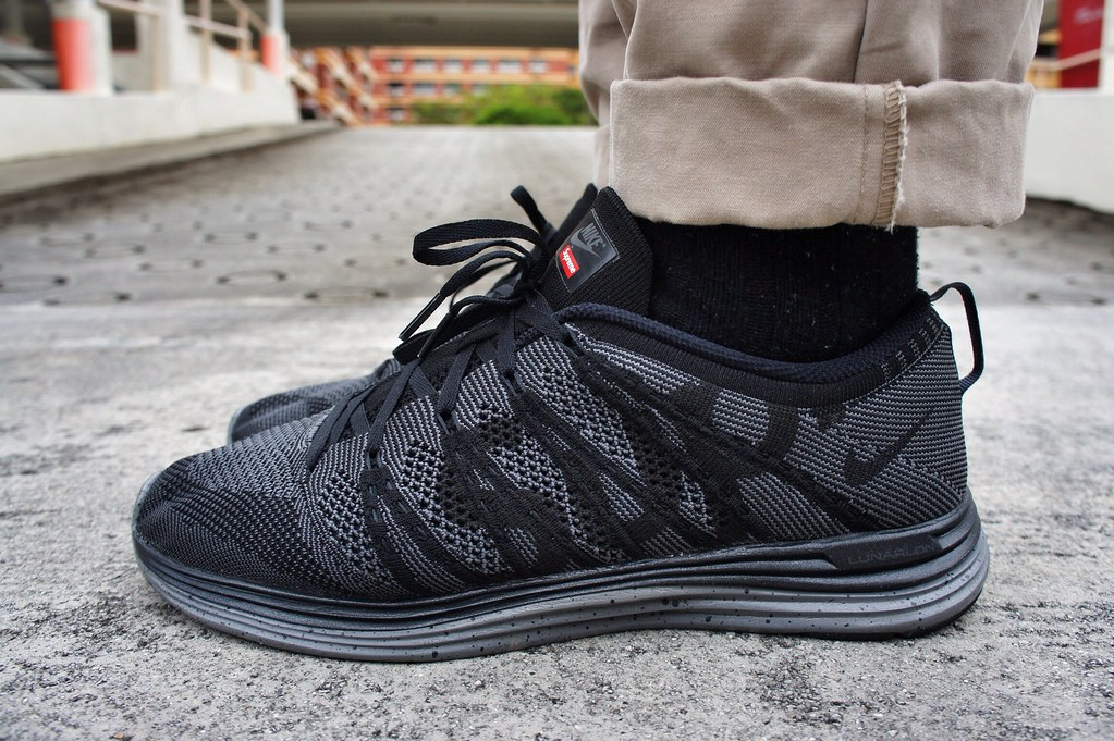 separation shoes official store temperament shoes Supreme x Nike Flyknit Lunar 1+ | uproariouslyhim | Flickr