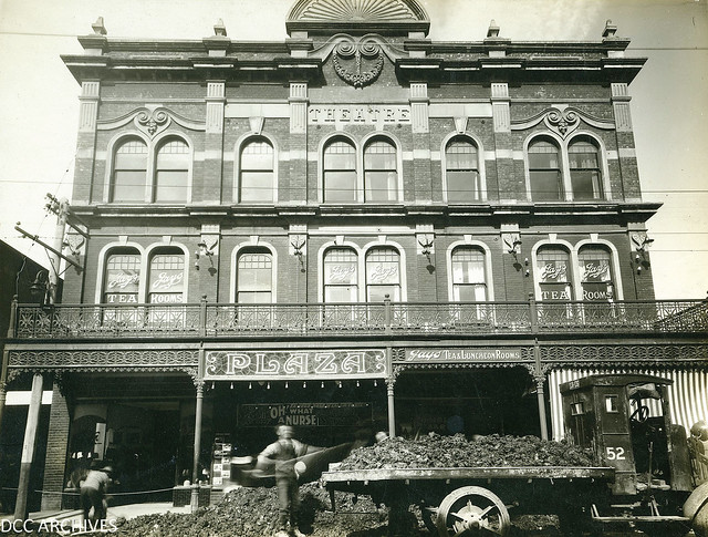 Plaza Theatre building, 1 March 1929, George Street