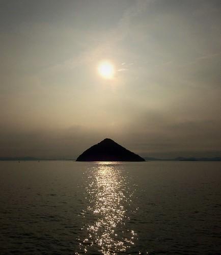 sunset island 浜松 瀬戸内海 英会話 popbunka ozuchi 海の上