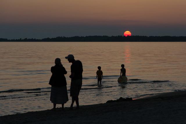 Sunset at the Beach-1526