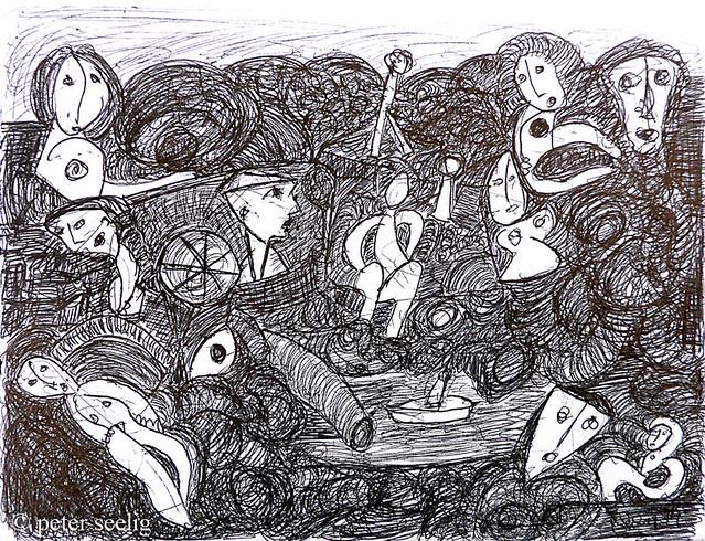 Boattrip #Lolalu #Lugano #art #diary #day 29 (MAJGCB20140702013)
