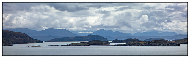 South over The Summer Isles from Fox Point