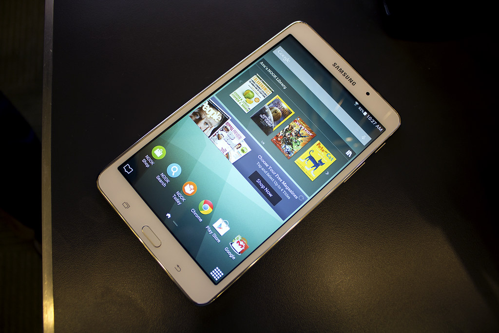 samsung nook homescreen | Samsung Galaxy Tab 4 Nook | Flickr