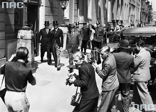 Reunión entre Von Neurath, Jozef Beck y Jozef Lipsk en Berlín, 1935