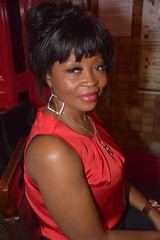 DSC_0060 Rita from Angola Out on the Town Beautiful Portrait at Charlie Wright's Music Lounge Shoreditch London