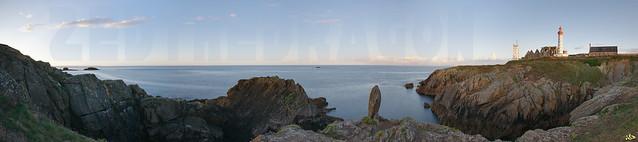 Panorama de La Pointe St Mathieu, Finistére (29) France