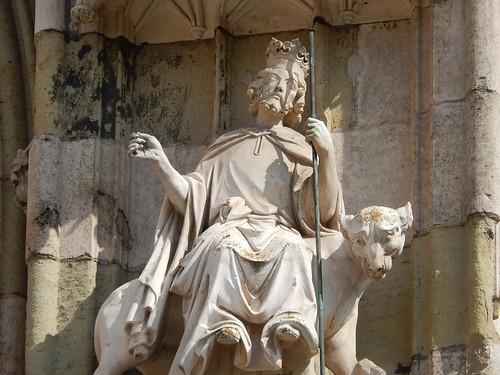 Regensburg - detail van dom