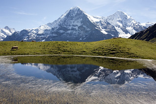 Eiger north face | by kBandara