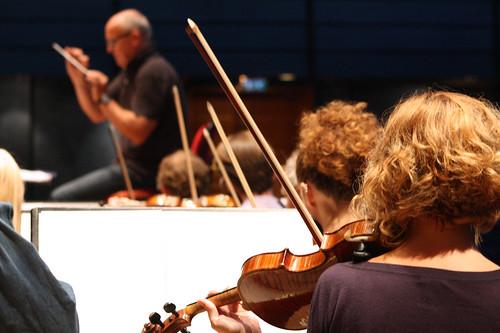 Symfoniorkestern och Christian Lindberg.