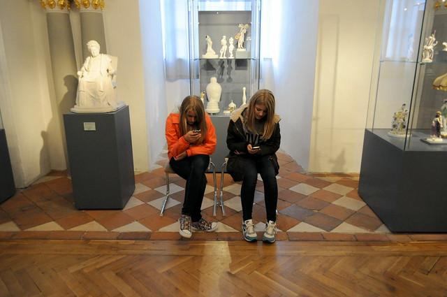 kids im museum