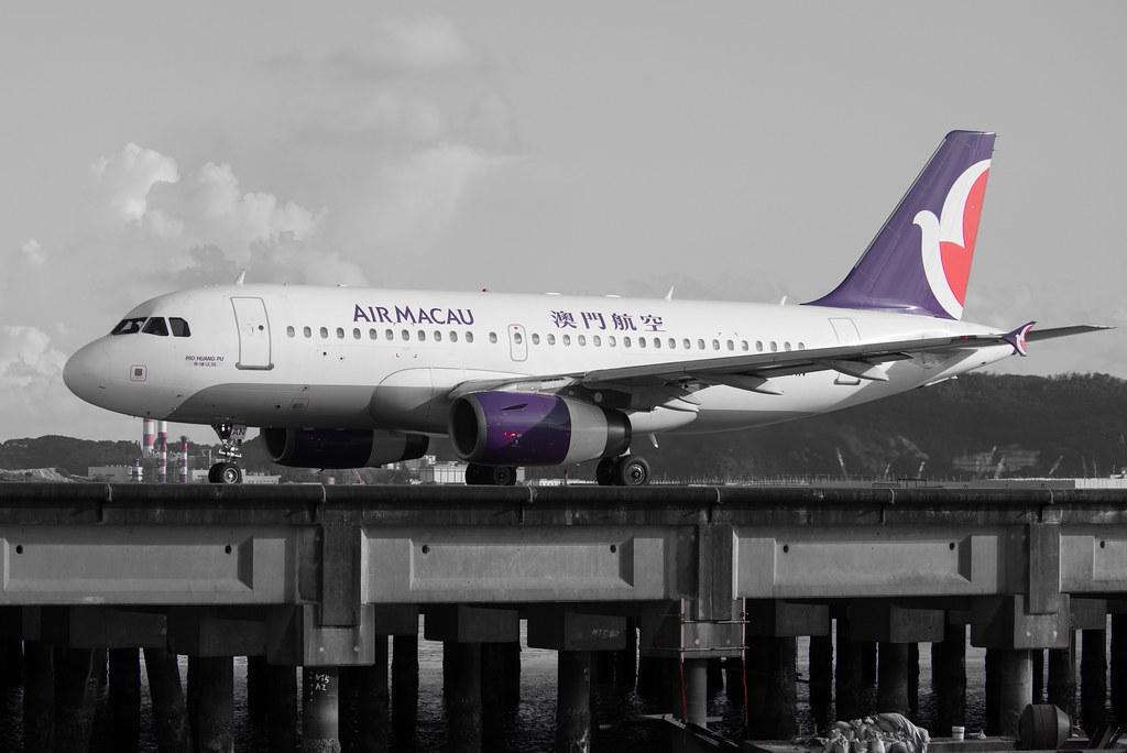 Air Macau A319 B-MAN 'Rio Huang Pu'