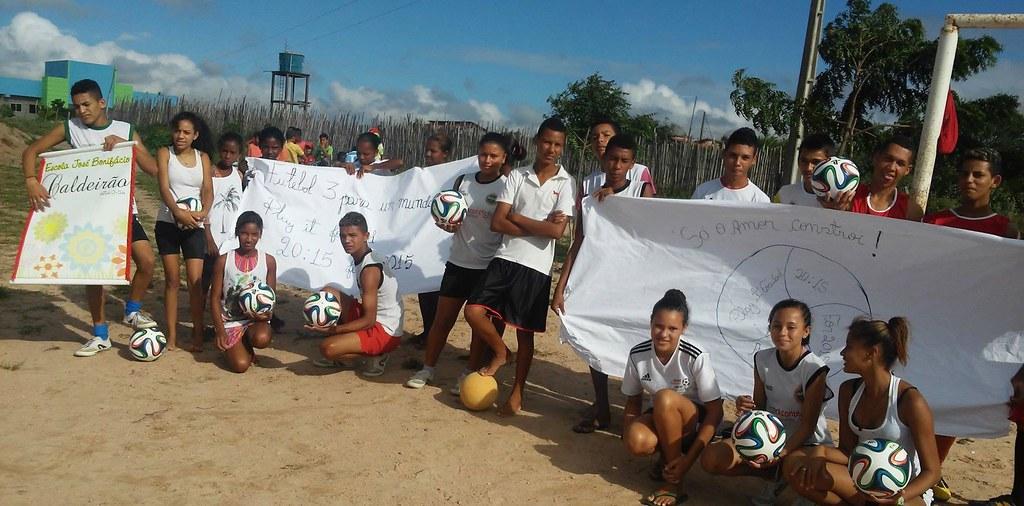 Brazil - Araci - PLAY IT FORWARD