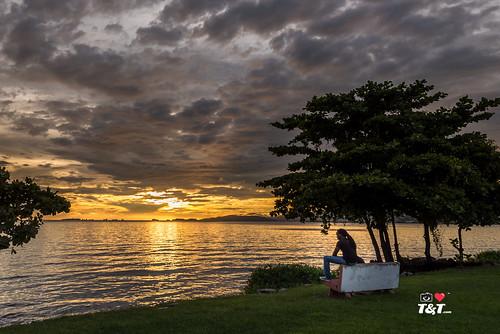 trinidadtobago zaj ziadjosephphotography ilovetrinidadandtobagocom trinidadandtobagophotography sunset seascape sky clouds cloudporn cloudjunkie goldenhour caribbeansea coastalscene caribbean life caribbeanlife