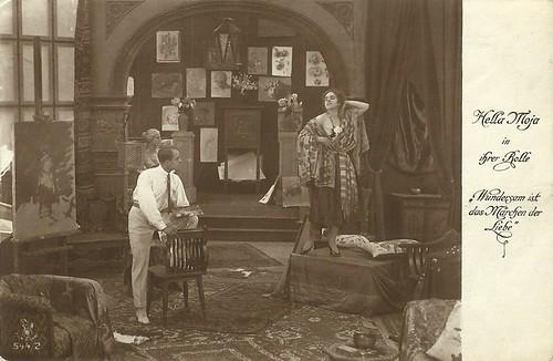 Hella Moja in Wundersam ist das Märchen der Liebe (1918)