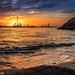 Golden Sunset by kamal_aljahed