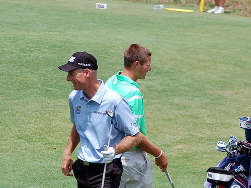 Jim Furyk and Brandon McIver | by Track Chic