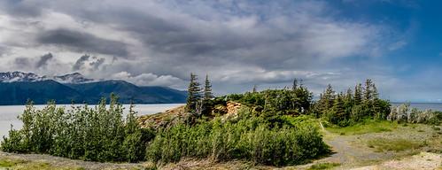 panorama rain alaska day unitedstates pano anchorage turnagainarm belugapoint martinsmith chugachstatepark saveearth nikon18200mmvrii nikond7000 alaskacruise2014 ©martinsmith