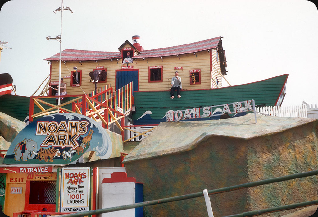 Noah's Ark, Old Orchard Beach, Maine – 1956