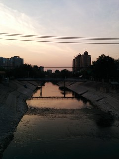 Sunrise in Wangjing | by tlianza