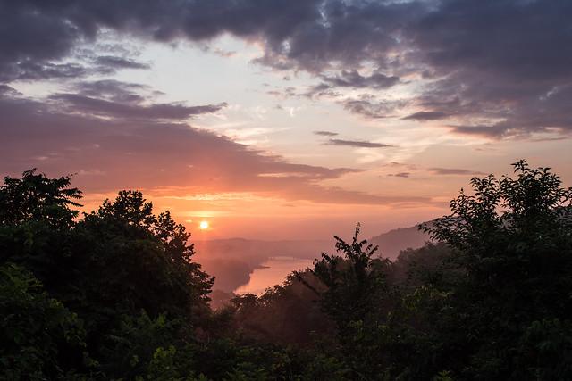 Mon Valley Sunset
