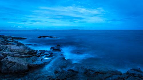 longexposure nightphotography seascape norway landscape bluehour oslofjord tønsberg vestfold larkollen engholmen normannphotography