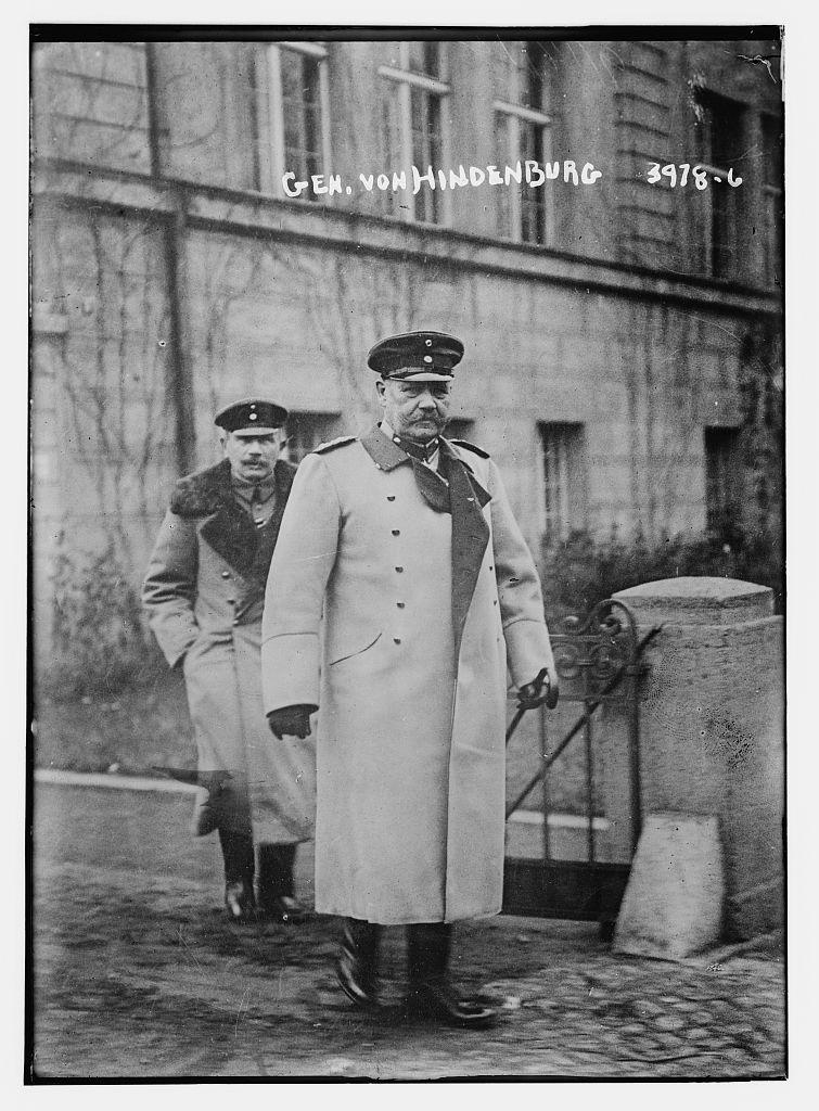 Gen. Von Hindenburg (LOC)