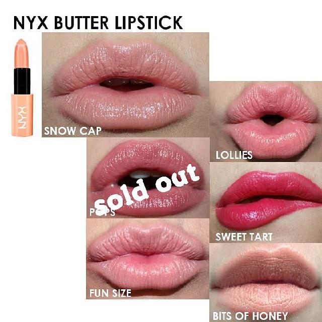 NYX Butter Lipstick @90rb Ready Stock Line: OrderKutekMura