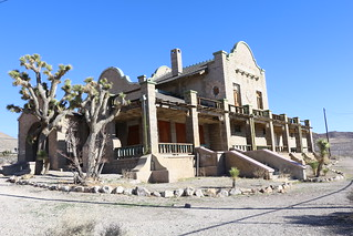 Las Vegas & Tonopah Railroad Depot, Ghost Town of Rhyolite… | Flickr